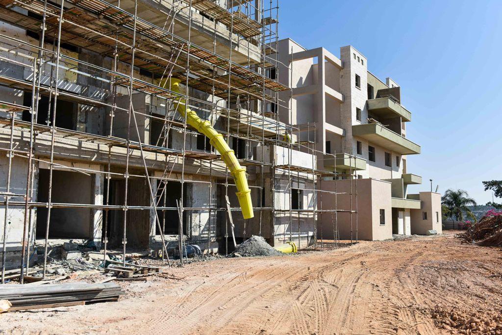 התקדמות הבנייה בעמנואל החדשה