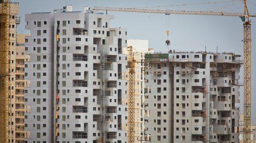 המרכז מוביל בהתחלות בניה. צילום: משה שי | פלאש 90