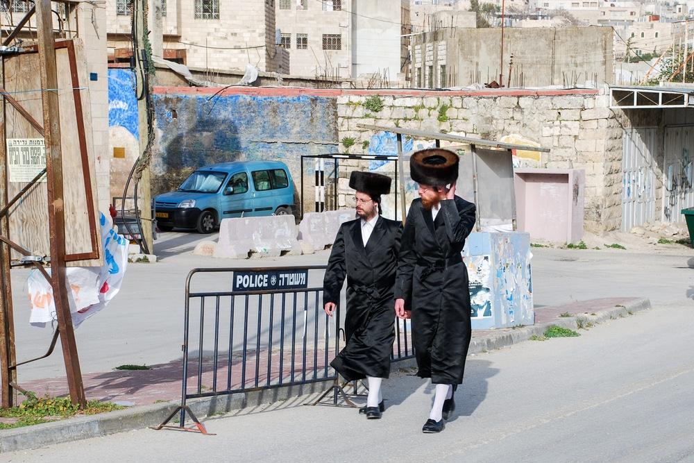 רחוב דוד המלך בחברון. צילום: Lerner Vadim   שאטרסטוק