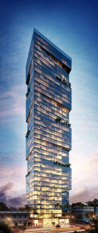 מגדל חדש ברמת גן, בגבול ה-BBC של בני ברק