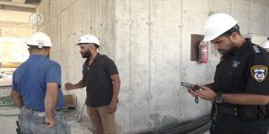 מבצע אכיפה ארצי משולב בכ-60 אתרי בנייה ב-24 ערים