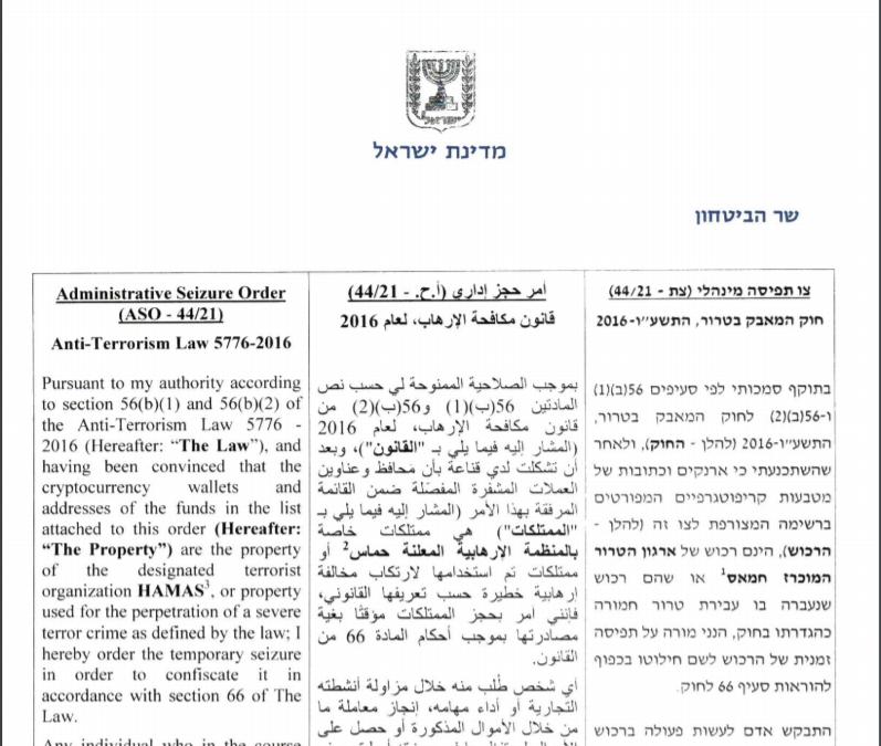 המצב הקשה של חמאס: עבר לביטקוין, וישראל מחרימה